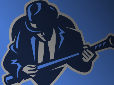 Blues baseball logo logo vector sports blues baseball music