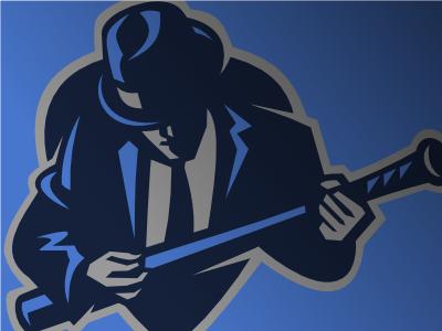 Blues baseball logo logo vector sports blues baseball music