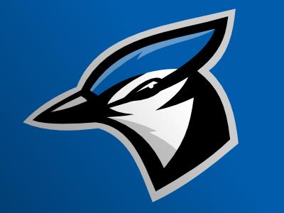 Blue Jays logo blue jays bird vector