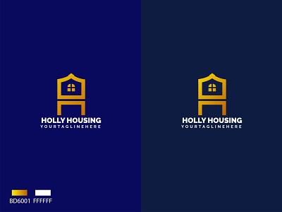 H+HOUSING LOGO h letter logo modren logo housing logo