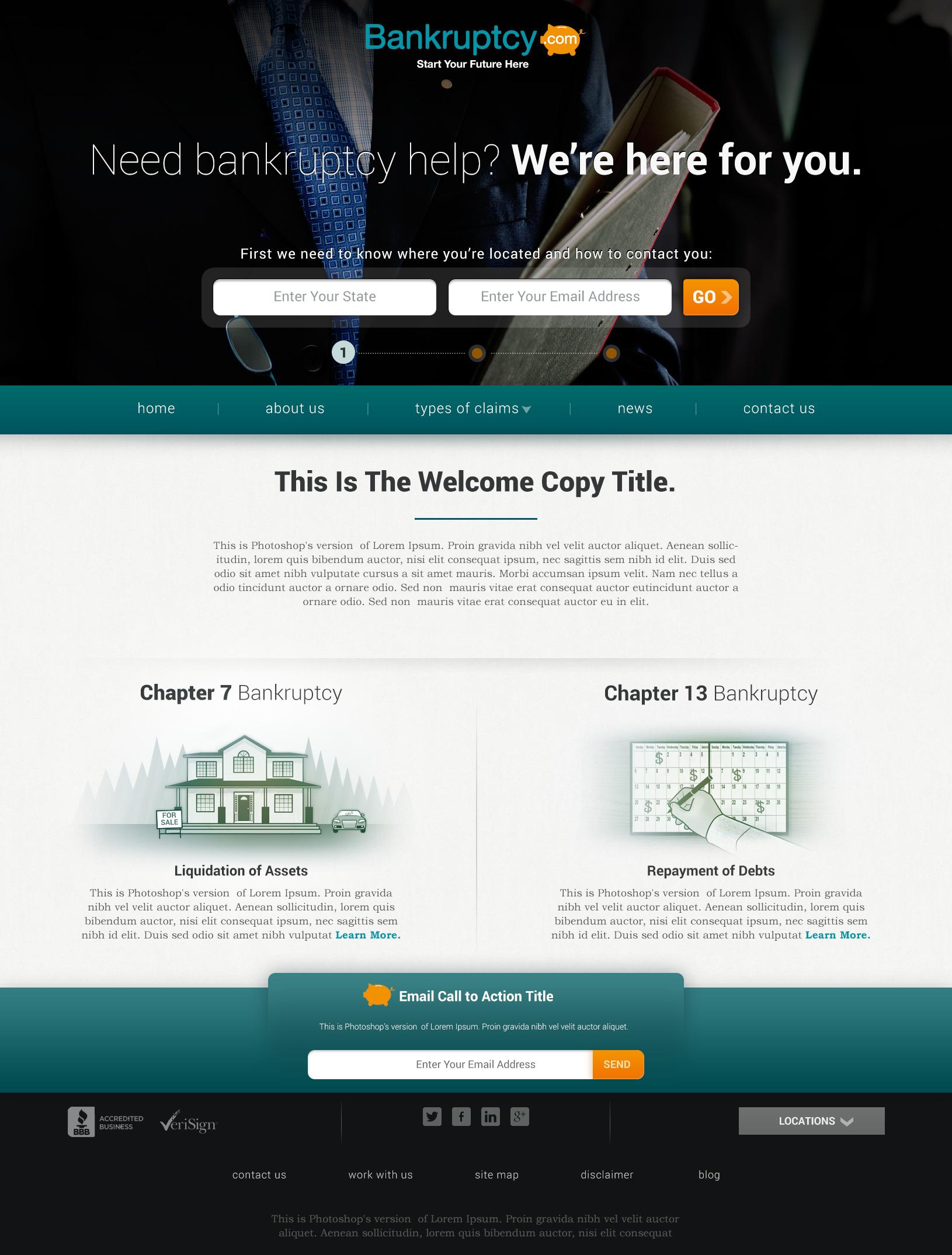 Homepage lawyer
