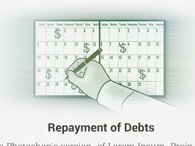 Repayment of Debts