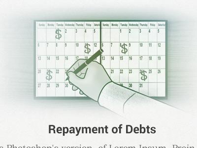 Dribbble repayment