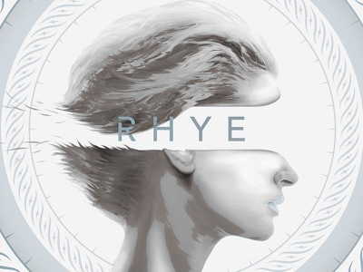 Rhye poster flyer flier show gig photoshop poster rhye