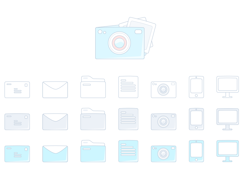 Sketch Icons Freebie ui ux design web mobile free app download clean icon sketch iphone