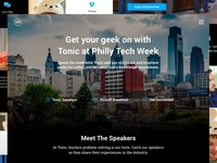 Tonic Design Philly Tech Week Page