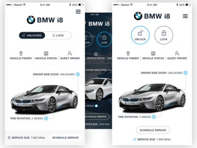 BMW i8 App