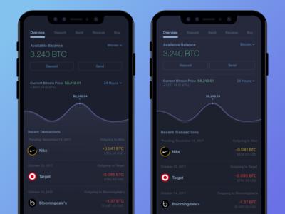 Bitcoin Wallet  - Dark