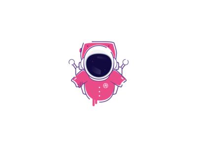(Sticker Mule Playoff) Astro Dribbble