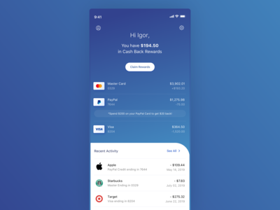 Credit Cards - WIP 2