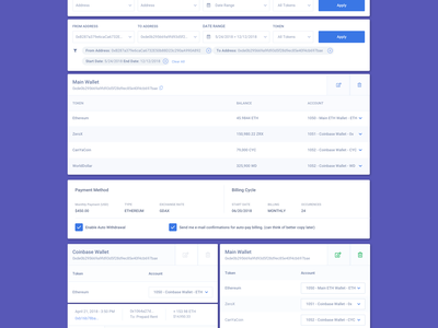UI Components / Wires wires crypto finance web design website bitcoin concept dashboard product design flat sketch clean interface iphone web mobile app ux ui design