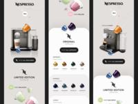 Nespresso - V1 Concepts