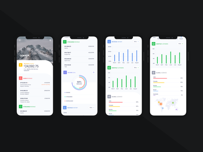Artist Dashboard - Mobile - V3 graphs analytics graph music app music dashboard concept ios product design flat sketch clean interface iphone web mobile app ux ui design