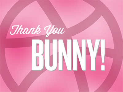 002 bunny thank you small