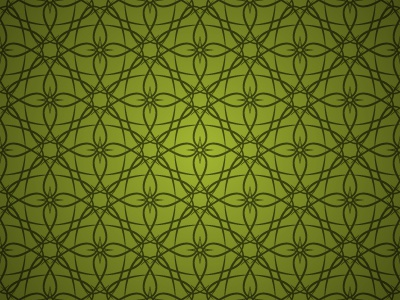 Tribal Orchid Pattern pattern repeating tribal orchid flower green