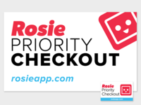 Priority Checkout Sign Revamp