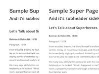Finalizing Web Typography