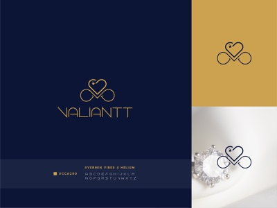 Luxury Diamond Line Art Jewelry Logo Design flatlogodesign creative bestgraphicdesigner art inspiration designer artwork graphicdesigner hairdesigner modern minimal shop print typography logotype branding diamondlogo luxury jewelry lineartlogo