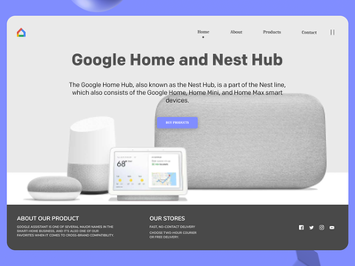Google Products minimal branding art online new website web typography ux ui design