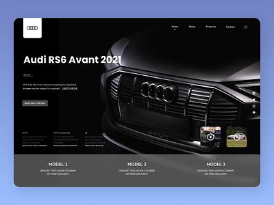 Cars Brands minimal branding online new website web typography ux ui design