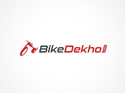 BikeDekho Logo Design - Branding speed icon india bike branding logo design logo