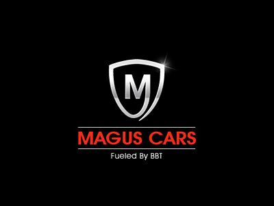 Magus Car Logo - Branding color red designer design india luxury vehicle logo identity icon design logo design logo car