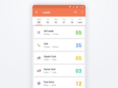 App Design - UI/UX