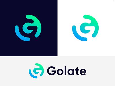 Golate G Letter Mark Logo Design modern logo design gradient g logo modern logo business logo gletter mark gletter mark g g logo design modern logotype logodesign logo lettermark vector monogram abstract branding