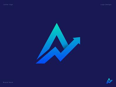 Letter A + Arrow app icon a arrow logo modern logo logotype logo icon letter logo letter a arrow transport illustration creative lettermark monogram 3d branding designer abstract brand