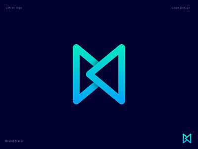 B/M Logo Concept startup diagram app icon 3d b logo bm logo gradient logo logo icon lettermark monogram illustration vector technology lettering business m letter b letter