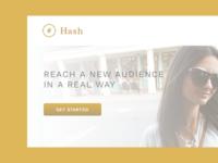 Hash Landing Page