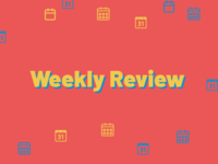Weekly Review Rebound