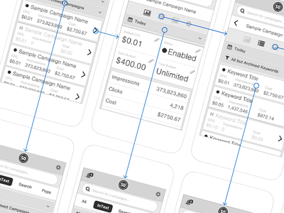 Traffic Platform - Mobile Wireframes (@2x) ui wireframe mobile documentation mapping discovery