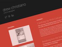 drewchristiano.com (WIP)