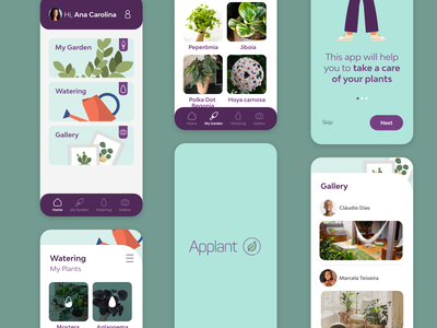 Applant app ux ui design