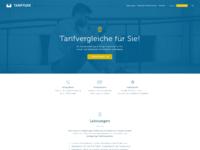 Tariffuxx screendesign startseite b2b