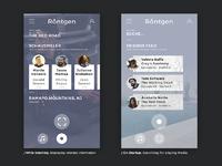 Bymagellancom roentgen appdesign screens