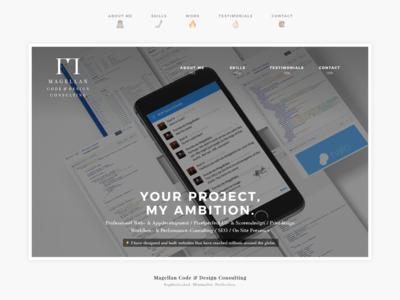 Freelancer Flyer - Page I