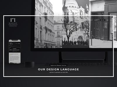 Minimal Landing Page - Daily UI Challenge 003 minimalist portfolio freelancer magellan webdesign mockup logo landing page ui minimal website web typography branding design