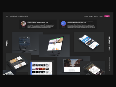 Freelancer Portfolio - Daily UI Challenge 013