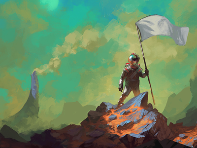 Badass Rocket Buddy wip design agency web animation digital art illustration