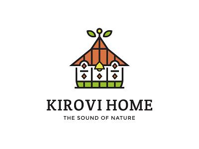 Kirovi Home armenia home illustration logo hotel restaurant