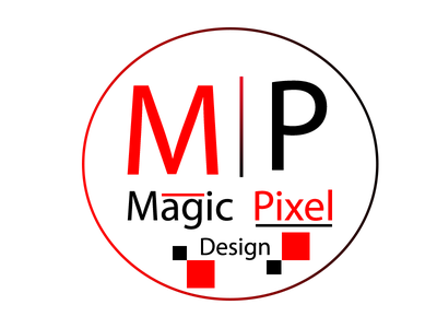 Magic Pixel Design Logo logo new
