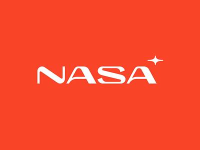 NASA revision redesign nasa logodesign logo type identity branding space