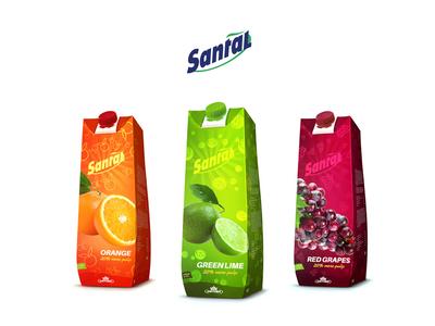 Santal Packing Design santal packing design packing juice