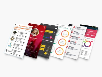 Apps Mix mobile ui app design user interface