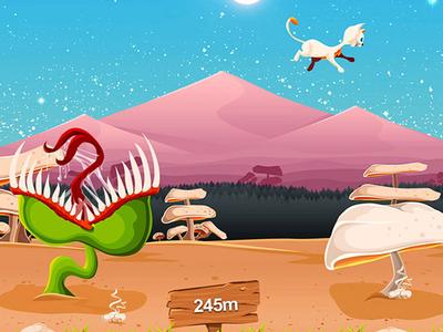 Aircat game design game character design artwork