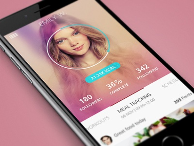 Fitness App fitness app design ui mobile ui mobile design fitness app gym