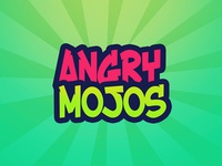 Angry Mojos game app design creative work coming soon game development game deisgn