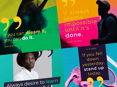 Social Media Quote Banners Set 3